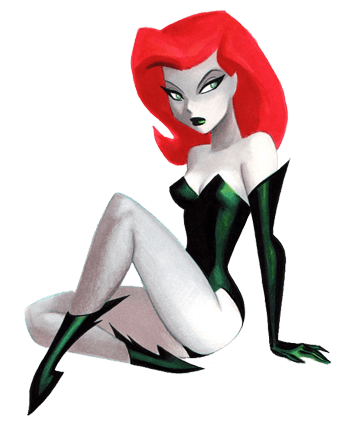 poison ivy villain cartoon. Poison Ivy