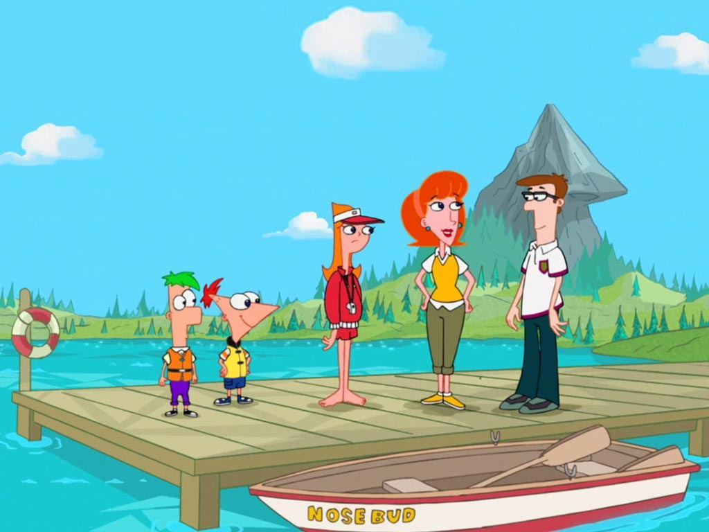 Apologise, that Pics of the phineas and ferb family nude
